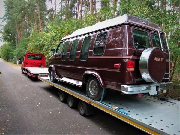 przewóz campingów