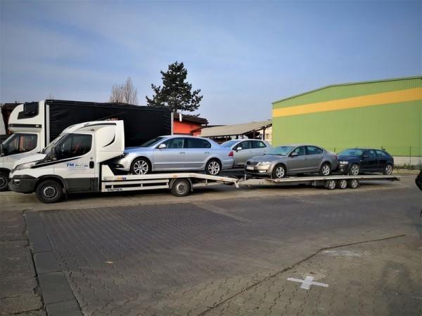 przewóz samochodów używanych