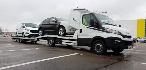 samochody do transportu aut