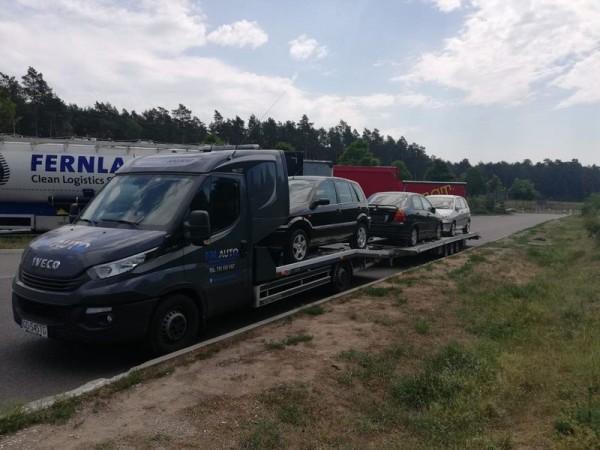 samochodów osobowych transport